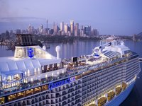 Ovation of the Seas - in Sydney am Morgen