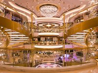 Regal Princess - The Piazza / Atrium