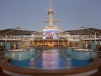 Rhapsody of the Seas - Pooldeck