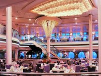 Rhapsody of the Seas - Dining Room - Hauptrestaurant