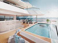 Ritz-Carlton Yacht - Pool Deck