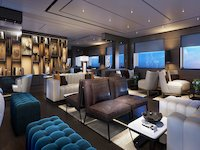 Ritz-Carlton Yacht - Living Room Library