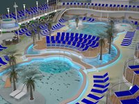 Royal Princess - Pool Deck
