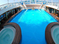 Ruby Princess - Spa Pool