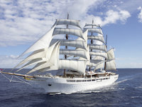 Sea Cloud II - Cruisen unter Segel