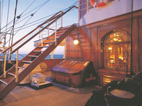 Sea Cloud - Deckstimmung am Abend