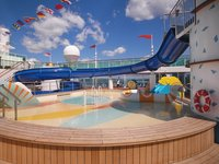 Serenade of the Seas - Waterslides