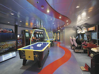 Serenade of the Seas - Arcade Room