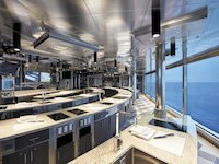 Seven Seas Explorer - Culinary Art Kitchen