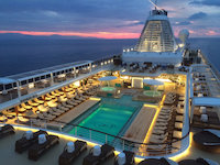 Seven Seas Explorer - Pooldeck