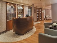 Seven Seas Voyager - SPA Rezeption