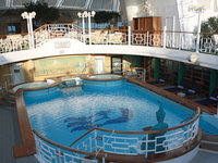Star Princess - Poolbereich vor The Sanctuary