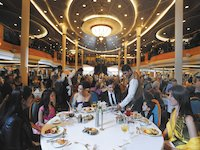 Vision of the Seas - Hauptrestaurant