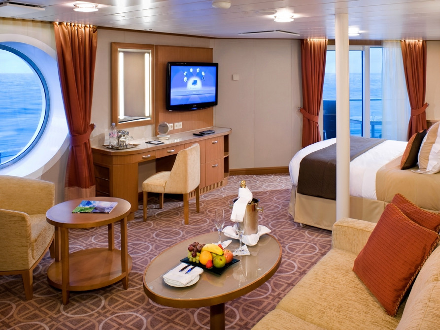 Celebrity Reflection Cabin 1214 - Category S1 - Sky Suite ...