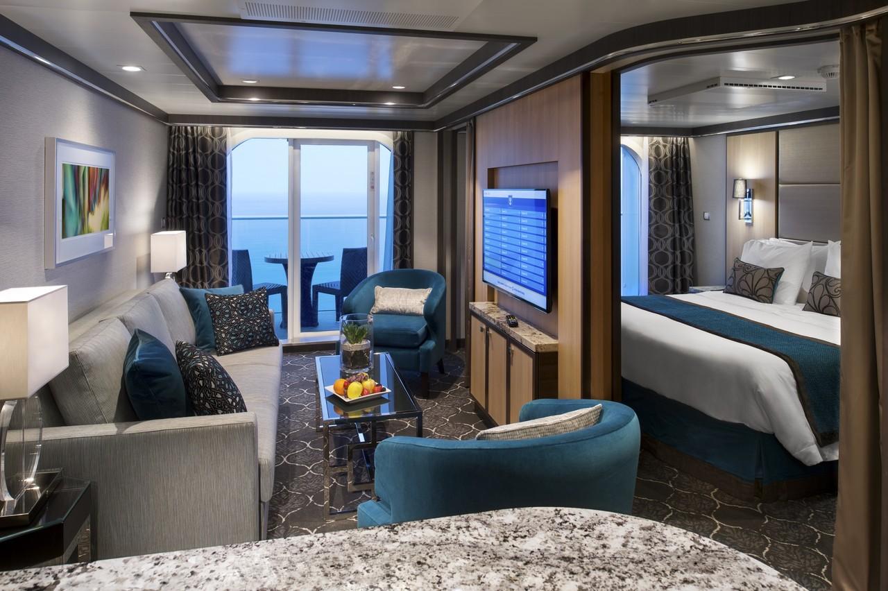 Suiten der Harmony of the Seas - Kabinenaustattung & Guide