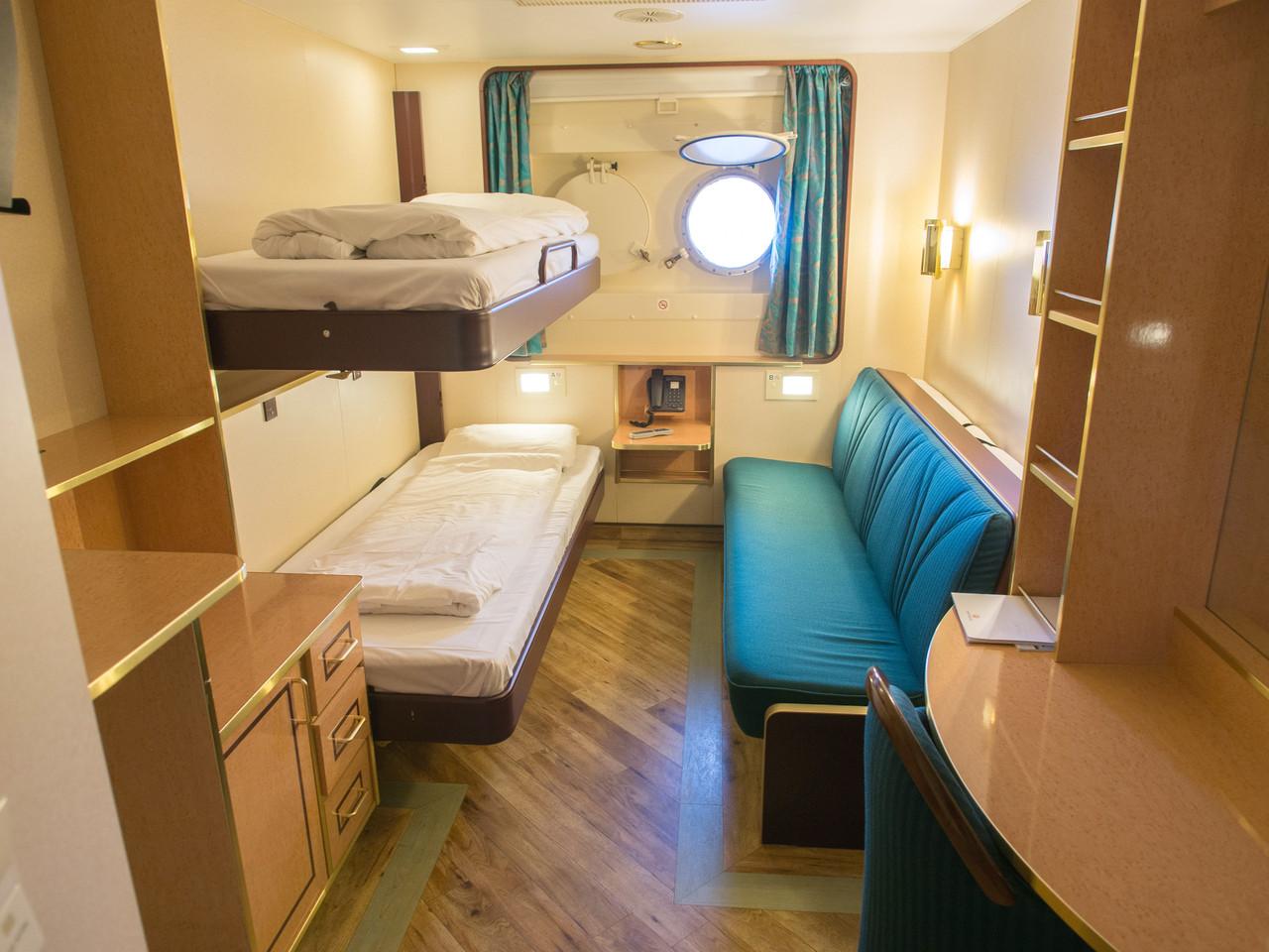 Kabinen der ms finnmarken kabinenaustattung guide for Badezimmer 11qm