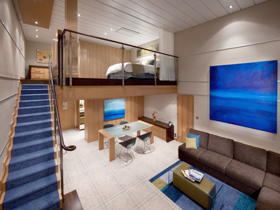 Sky Loft Suite der Allure of the Seas