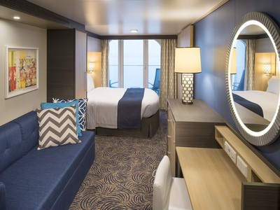 Deluxe Balkonkabine der Anthem of the Seas - Kabinenfoto Balkonkabine