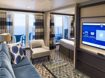 Anthem of the Seas - Grand Suite  - Kabinenfoto Suite