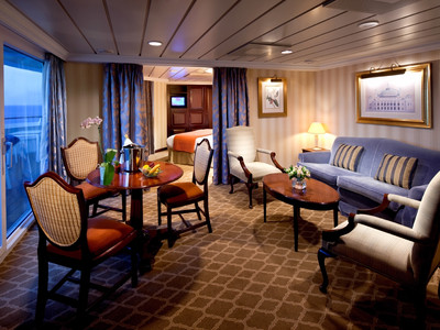 Azamara Quest - Club World Owner's Suite  - Kabinenfoto Suite