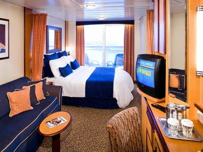 Brilliance of the Seas - Deluxe-Balkonkabine  - Kabinenfoto Balkonkabine