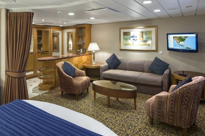 Grand-Suite der Brilliance of the Seas - Kabinenfoto Suite