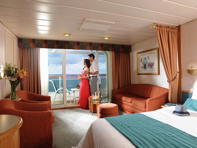 Brilliance of the Seas - Junior-Suite  - Kabinenfoto Suite