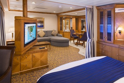 Brilliance of the Seas - Owner Suite  - Kabinenfoto Suite