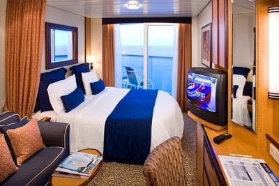 Brilliance of the Seas - Superior-Balkonkabine  - Kabinenfoto Balkonkabine