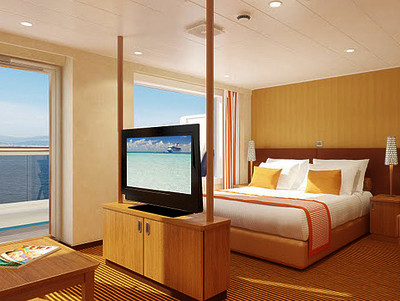 Grand Suite der Carnival Breeze - Kabinenfoto Suite
