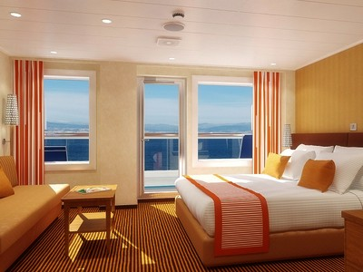 Ocean Suite der Carnival Dream