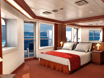 Junior Suite der Carnival Glory