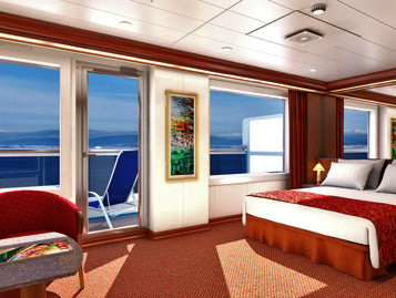 Grand Suite der Carnival Legend - Kabinenfoto Suite