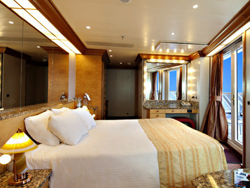 Vista Suite der Carnival Legend