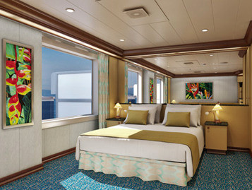 Grand Suite der Carnival Magic - Kabinenfoto Suite