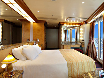 Vista Suite der Carnival Miracle