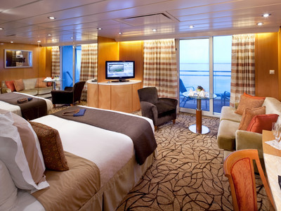 Sky-Suite der Celebrity Constellation