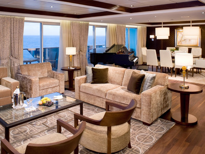 Celebrity Eclipse - Penthouse-Suite  - Kabinenfoto Suite