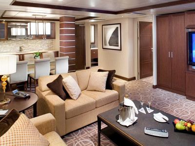 Celebrity Eclipse - Royal-Suite  - Kabinenfoto Suite
