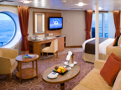 Celebrity Eclipse - Sky-Suite  - Kabinenfoto Suite