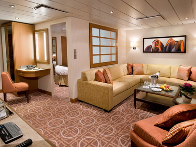 Celebrity Suite der Celebrity Equinox - Kabinenfoto Suite