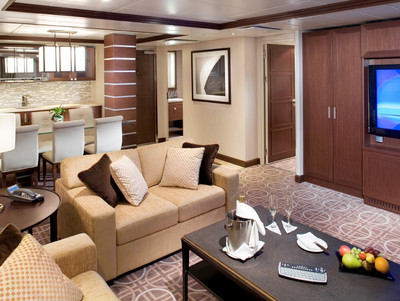 Celebrity Equinox - Royal-Suite  - Kabinenfoto Suite