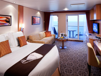 AquaClass Suite der Celebrity Reflection - Kabinenfoto Suite