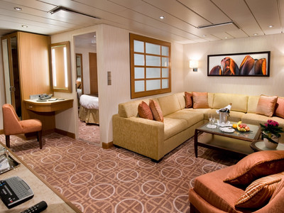 Celebrity Suite der Celebrity Silhouette - Kabinenfoto Suite