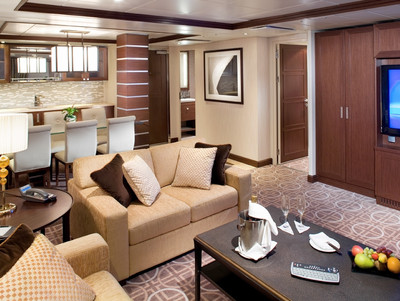 Celebrity Silhouette - Royal Suite  - Kabinenfoto Suite