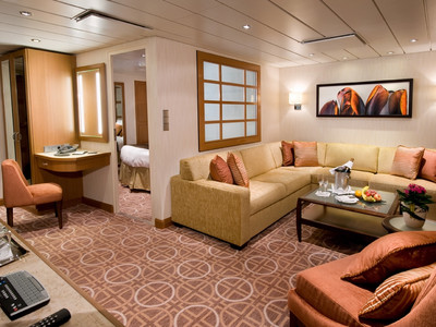 Celebrity Suite der Celebrity Solstice - Kabinenfoto Suite