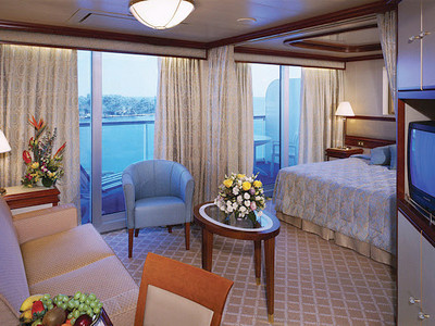 Vista-Suite der Coral Princess