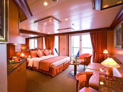 Costa Mediterranea - Grand-Suite  - Kabinenfoto Suite
