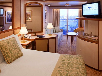 Crown Princess - Mini-Suite  - Kabinenfoto Suite