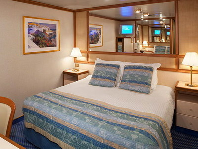 Innenkabine der Dawn Princess